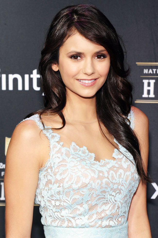 Nina Dobrev in Zuhair Murad at the 2nd Annual NFL Honors