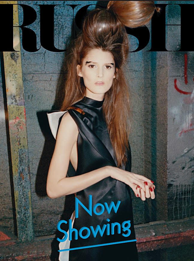 Marie Piovesan Goes Punk for Russh's February/March 2013 Cover Shoot