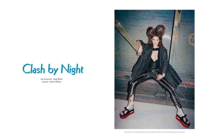 RSH50 FASHION Walsh 1 800x540 Marie Piovesan Goes Punk for Russhs February/March 2013 Cover Shoot