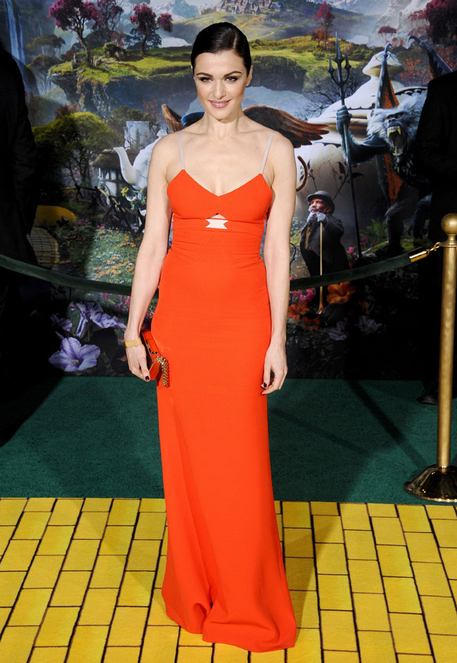 Rachel VB2 Rachel Weisz in Victoria Beckham at Oz The Great and Powerful LA Premiere