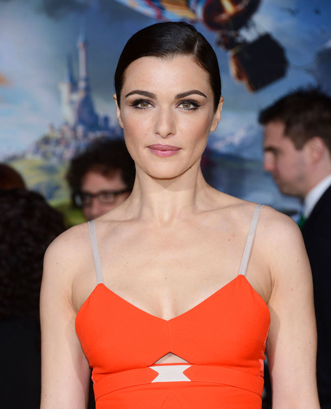 Rachel VB3 Rachel Weisz in Victoria Beckham at Oz The Great and Powerful LA Premiere
