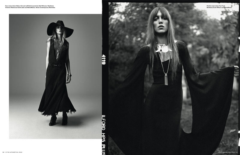 Richard Bush10 Cara Delevingne, Codie Young and Others Grace i Ds Pre Spring Issue by Richard Bush