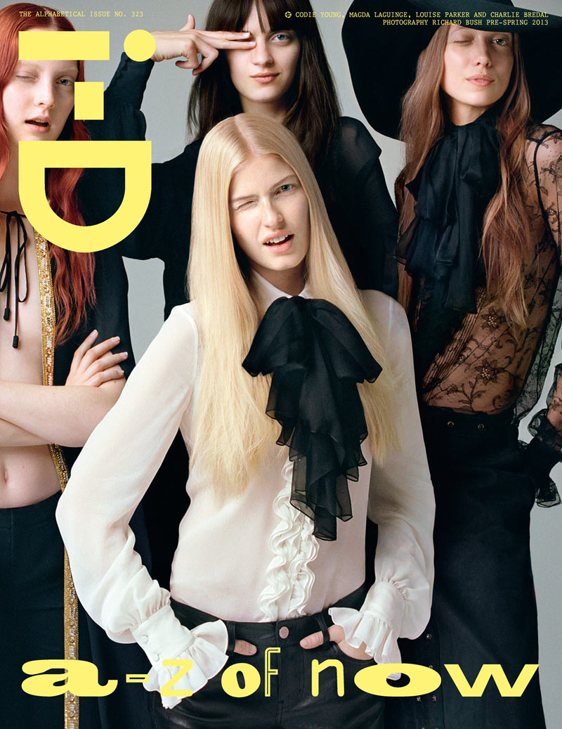 Cara Delevingne, Codie Young and Others Grace i-D's Pre-Spring Issue by Richard Bush