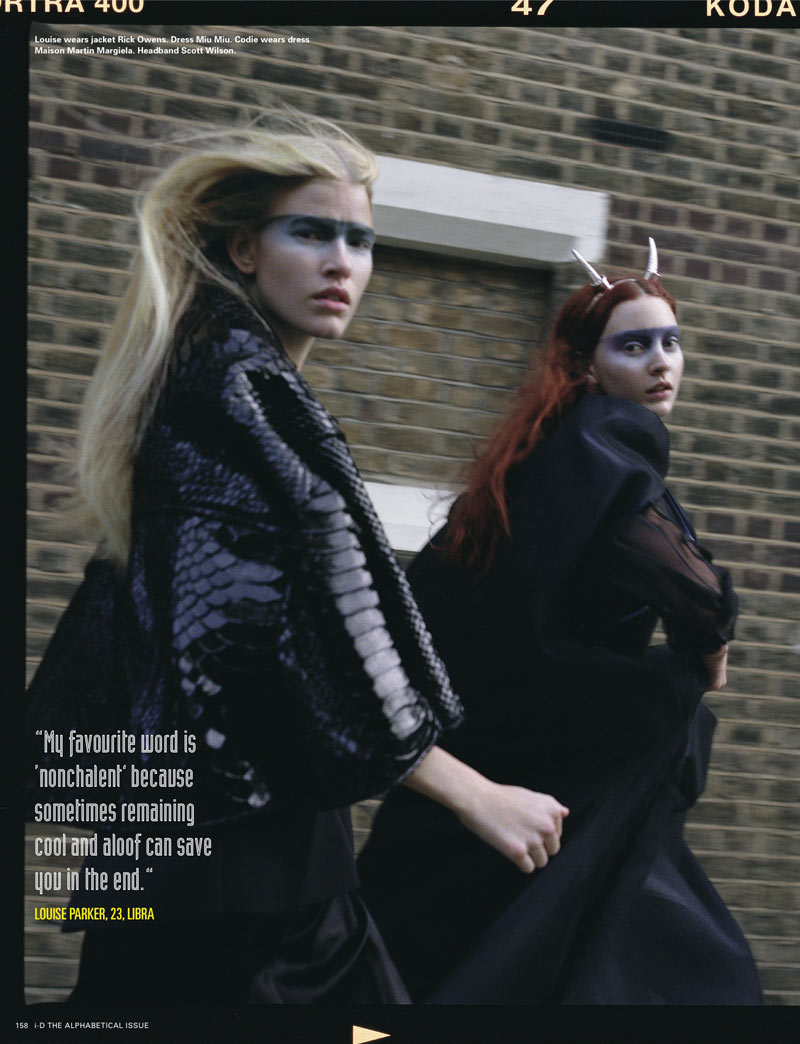 Richard Bush3 Cara Delevingne, Codie Young and Others Grace i Ds Pre Spring Issue by Richard Bush