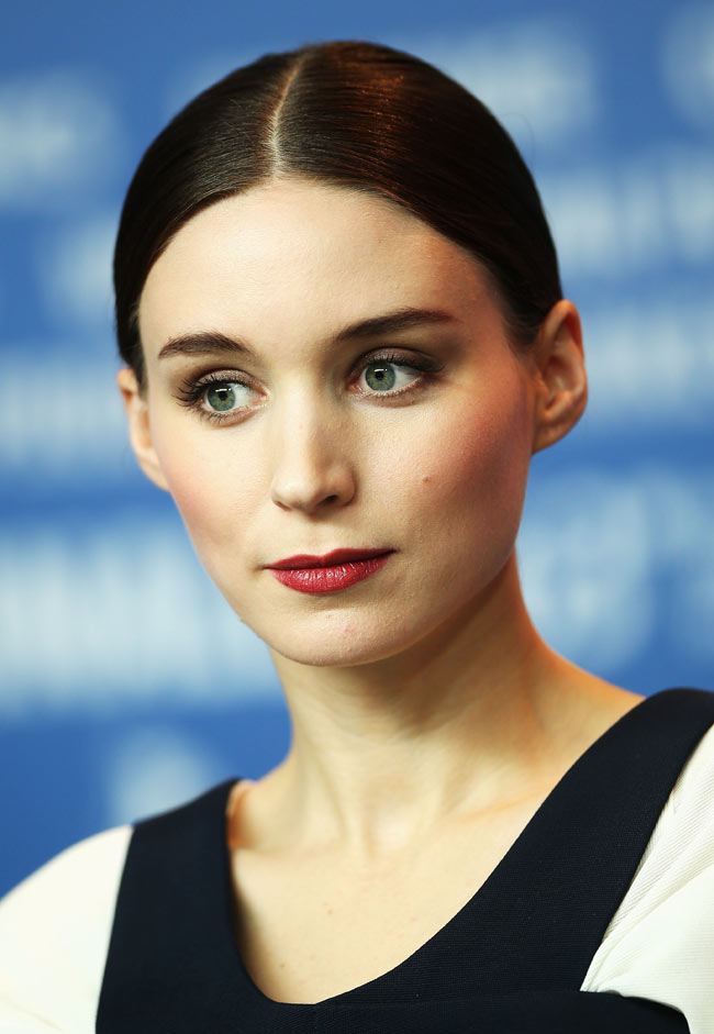 Rooney Mara4 Rooney Mara in Balenciaga at the Side Effects Berlin Photocall