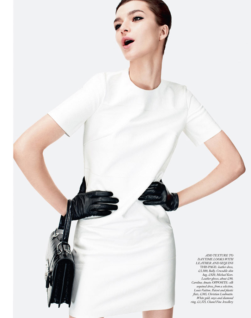 ServelHB2 Zen Sevastyanova Gets Mod for Harpers Bazaar UK March 2013 by Catherine Servel