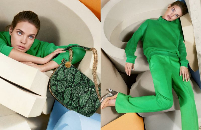 StellaSpring5 800x517 Natalia Vodianova Returns for Stella McCartney Spring 2013 Campaign by Mert & Marcus