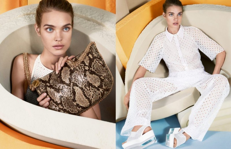 StellaSpring6 800x517 Natalia Vodianova Returns for Stella McCartney Spring 2013 Campaign by Mert & Marcus