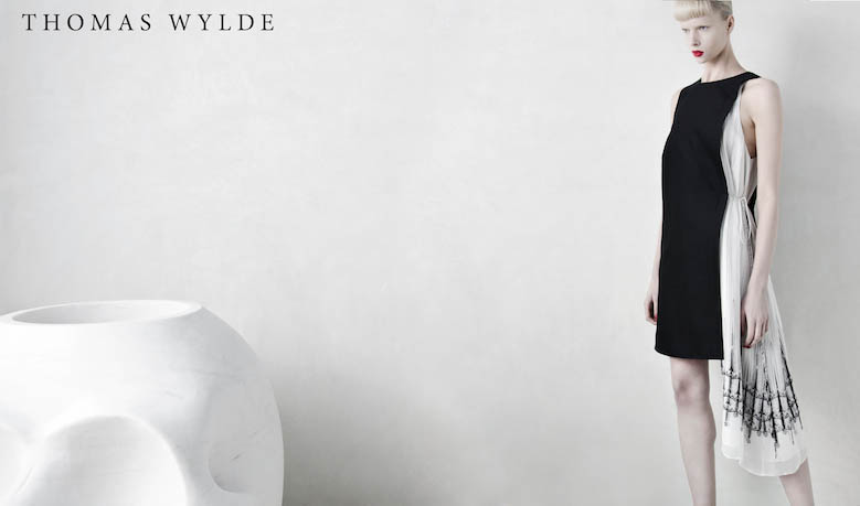 ThomasWylde KT 1 1 copy Thomas Wylde Enlists Alyona Subbotina for its Spring 2013 Campaign