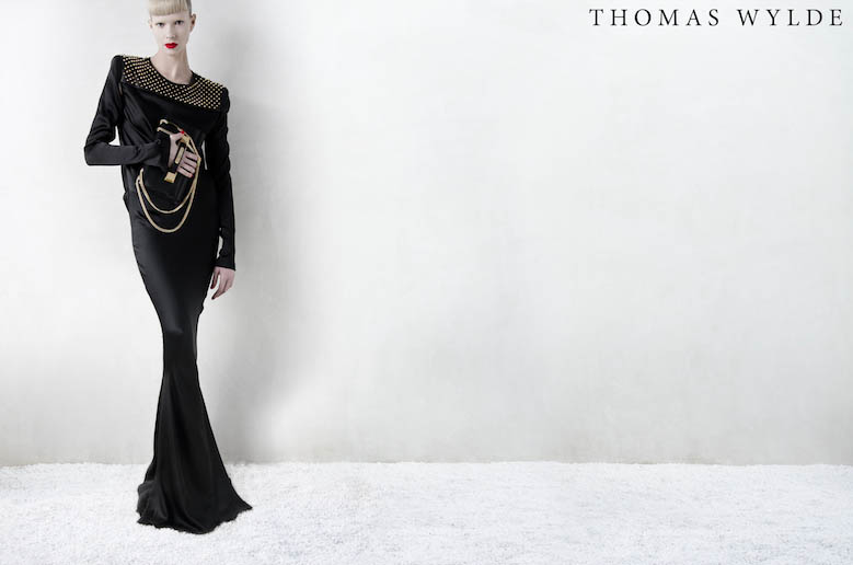 ThomasWylde KT 13 copy Thomas Wylde Enlists Alyona Subbotina for its Spring 2013 Campaign