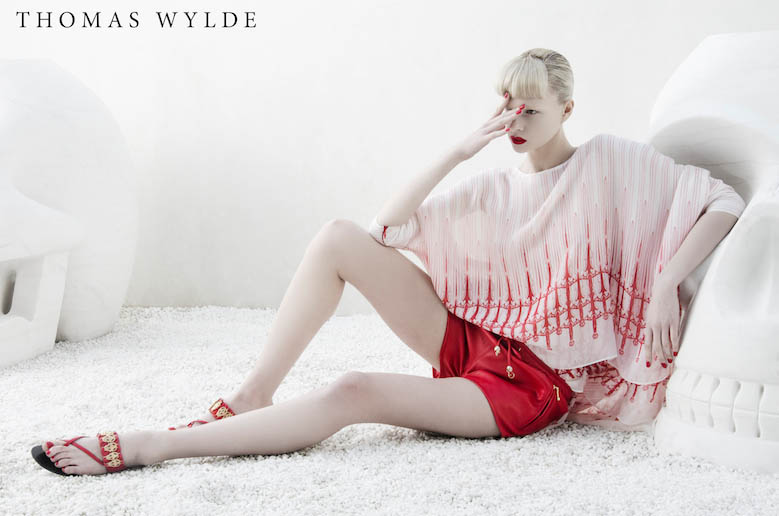 ThomasWylde KT 14 copy Thomas Wylde Enlists Alyona Subbotina for its Spring 2013 Campaign