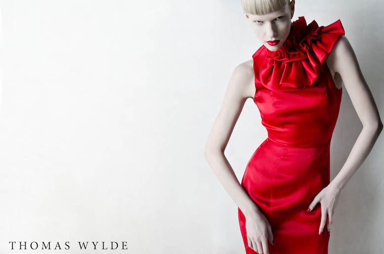 ThomasWylde KT 2 1 copy Thomas Wylde Enlists Alyona Subbotina for its Spring 2013 Campaign