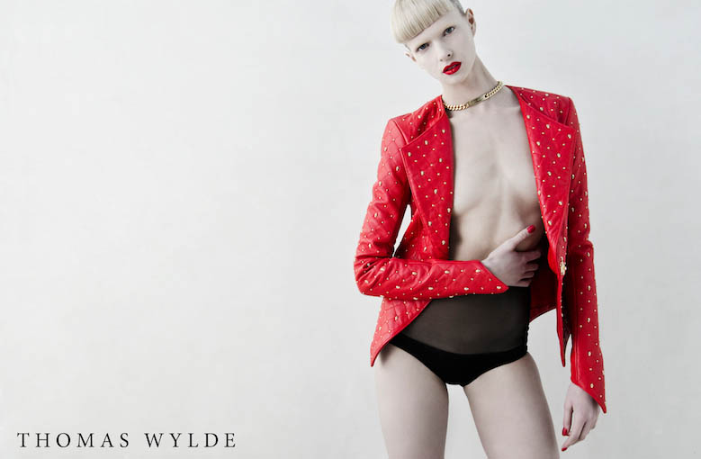 ThomasWylde KT 3 1 copy Thomas Wylde Enlists Alyona Subbotina for its Spring 2013 Campaign