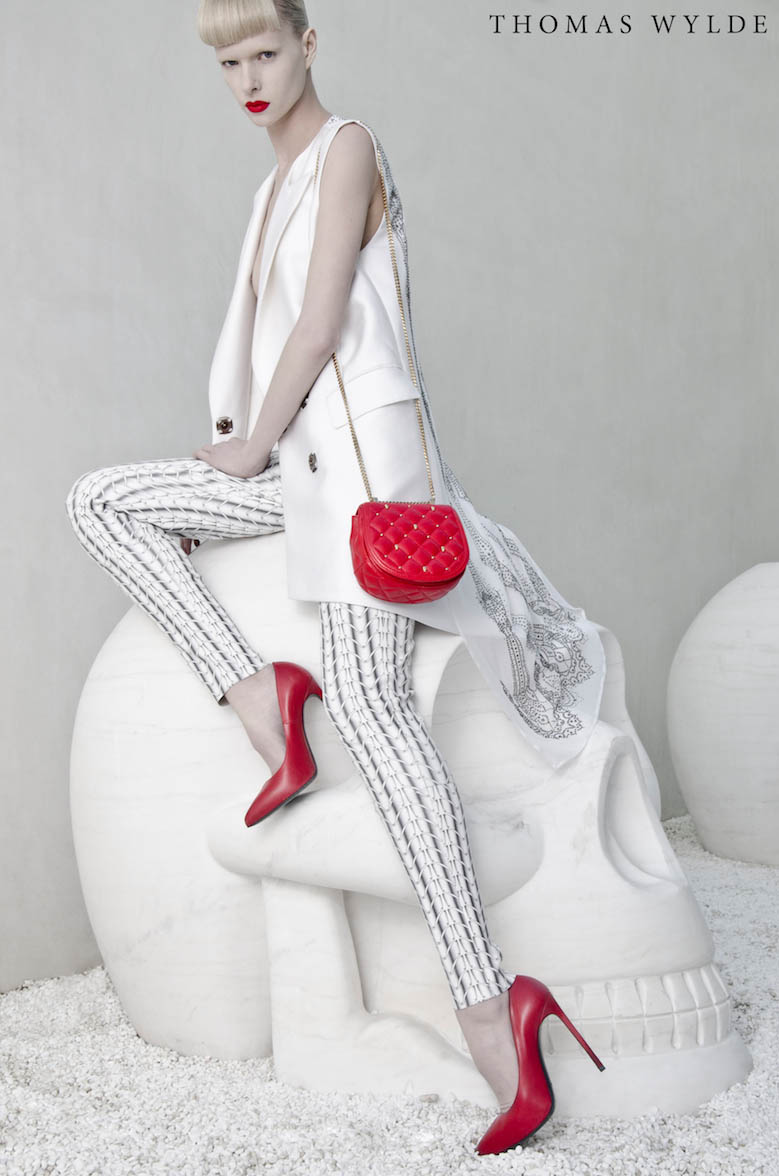 ThomasWylde KT 7 copy Thomas Wylde Enlists Alyona Subbotina for its Spring 2013 Campaign