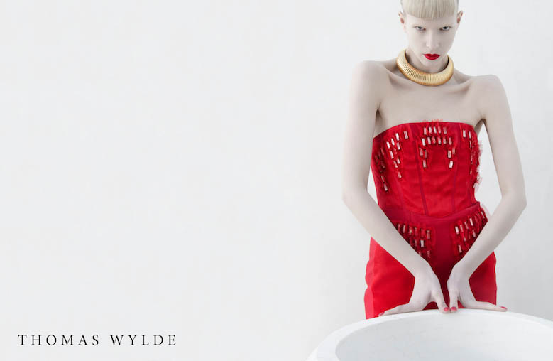 ThomasWylde KT 8 copy Thomas Wylde Enlists Alyona Subbotina for its Spring 2013 Campaign