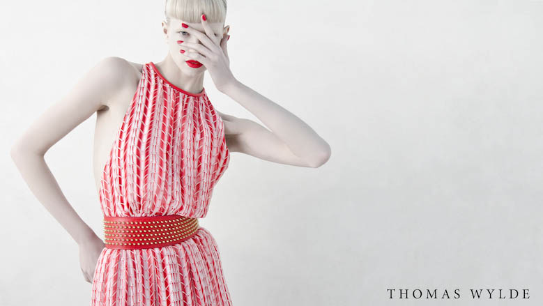 Thomas Wylde Enlists Alyona Subbotina for its Spring 2013 Campaign