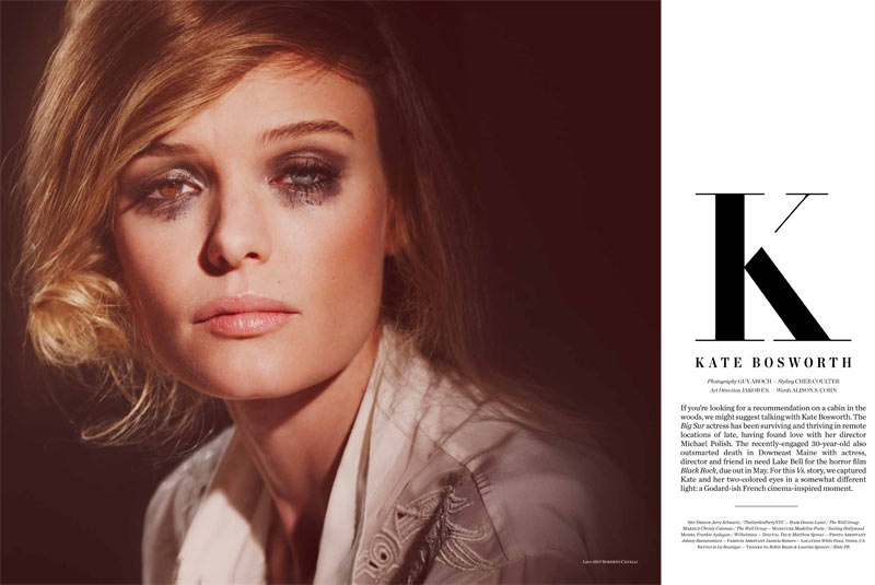 Vs KateBosworth 2 Kate Bosworth Seduces in Vs. Magazine S/S 2013 by Guy Aroch