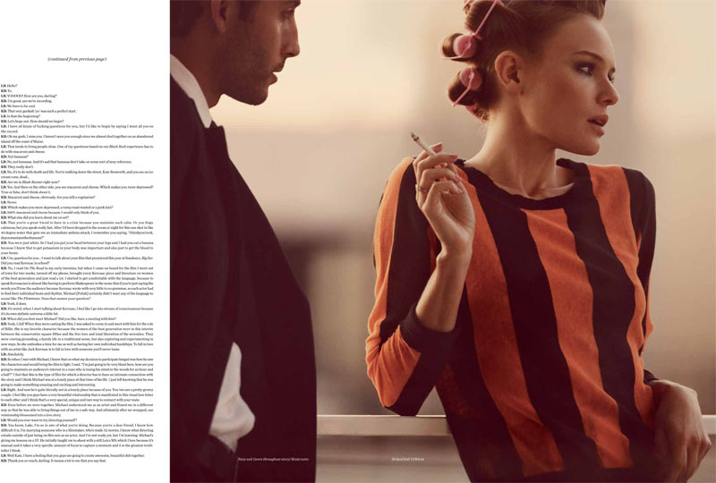Vs KateBosworth 3 Kate Bosworth Seduces in Vs. Magazine S/S 2013 by Guy Aroch
