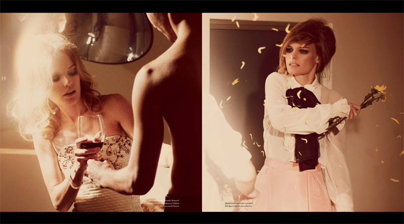 Vs KateBosworth 5 Kate Bosworth Seduces in Vs. Magazine S/S 2013 by Guy Aroch