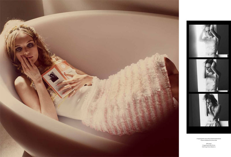 Kate Bosworth Seduces in Vs. Magazine S/S 2013 by Guy Aroch