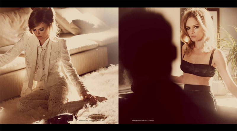 Vs KateBosworth 7 Kate Bosworth Seduces in Vs. Magazine S/S 2013 by Guy Aroch