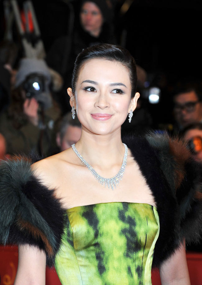 Zhang3 Zhang Ziyi in Dior Haute Couture at The Grandmaster Berlin Premiere