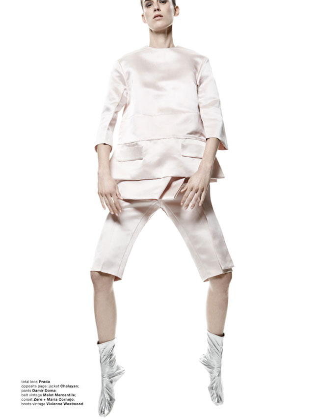 Marte Mei Van Haaster Poses for Amy Troost in Muse Spring 2013
