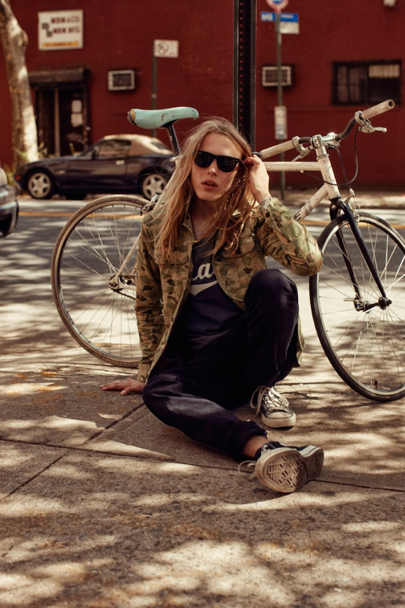 Ashley Smith Goes Downtown for Scotch & Soda's Spring 2013 Campaign