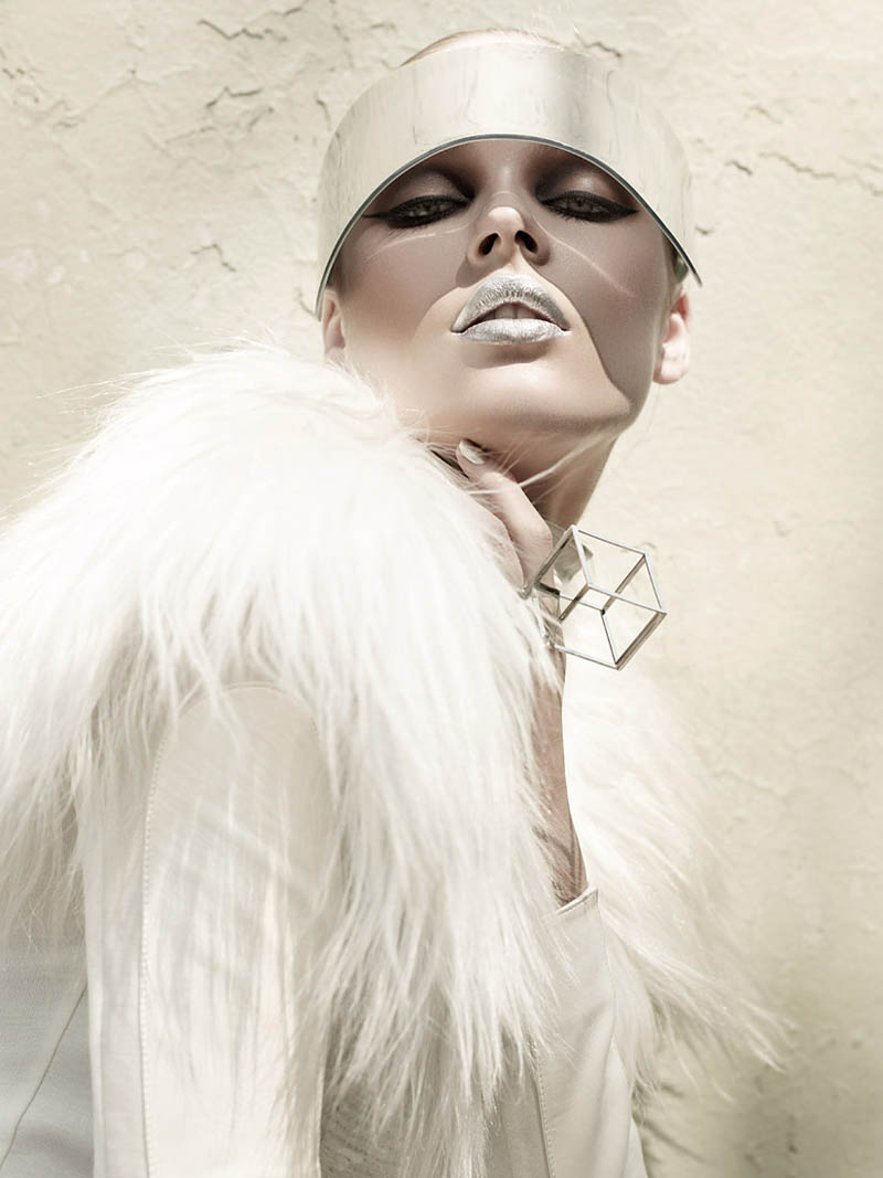 """Beegee Margenyte by Gavin O'Neill in """"Future Rising"""" for Fashion Gone Rogue"""