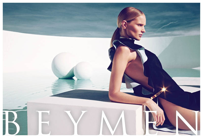 Katrin Thormann is Pure Luxe for Beymen's Spring 2013 Campaign by Koray Birand