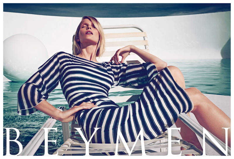 beymen ss13 004 Katrin Thormann is Pure Luxe for Beymens Spring 2013 Campaign by Koray Birand