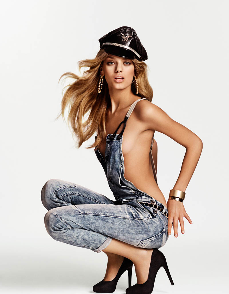 bregje heinen riches shoot4 Bregje Heinen is a Denim Diva in New Shoot by Philip Riches