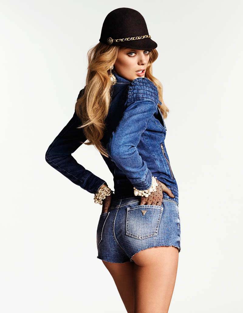 bregje heinen riches shoot7 Bregje Heinen is a Denim Diva in New Shoot by Philip Riches