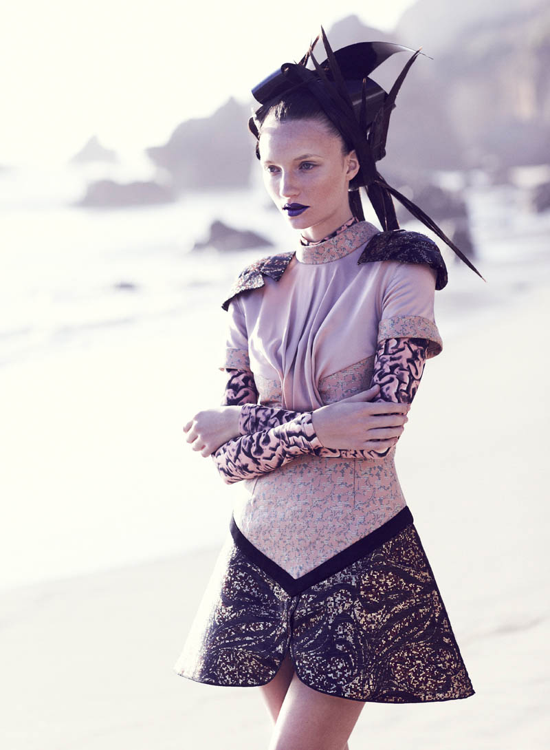 Chris Nicholls Captures Ciara in Eastern Fashion for Flare's March Issue