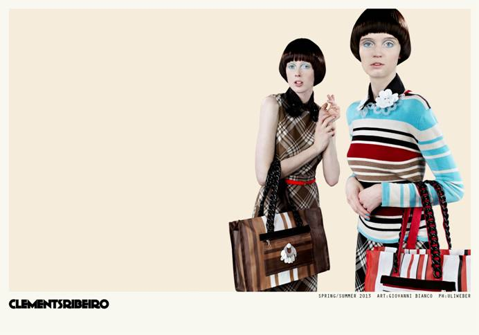 clements ribeiro spring campaign2 Clements Ribeiro Launches Spring 2013 Campaign by Uli Weber