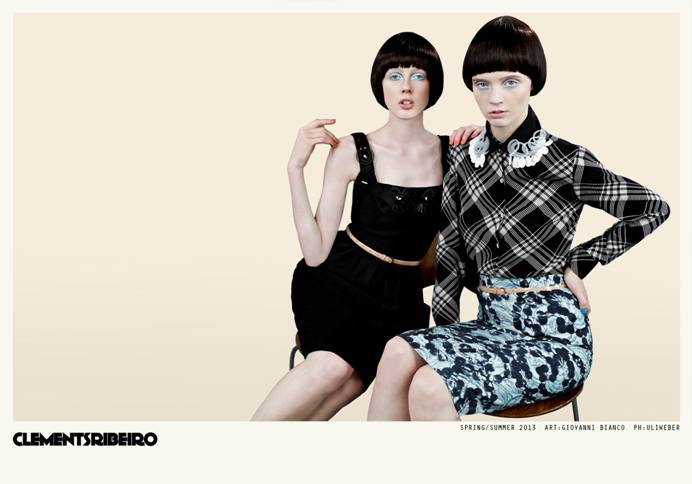 clements ribeiro spring campaign3 Clements Ribeiro Launches Spring 2013 Campaign by Uli Weber