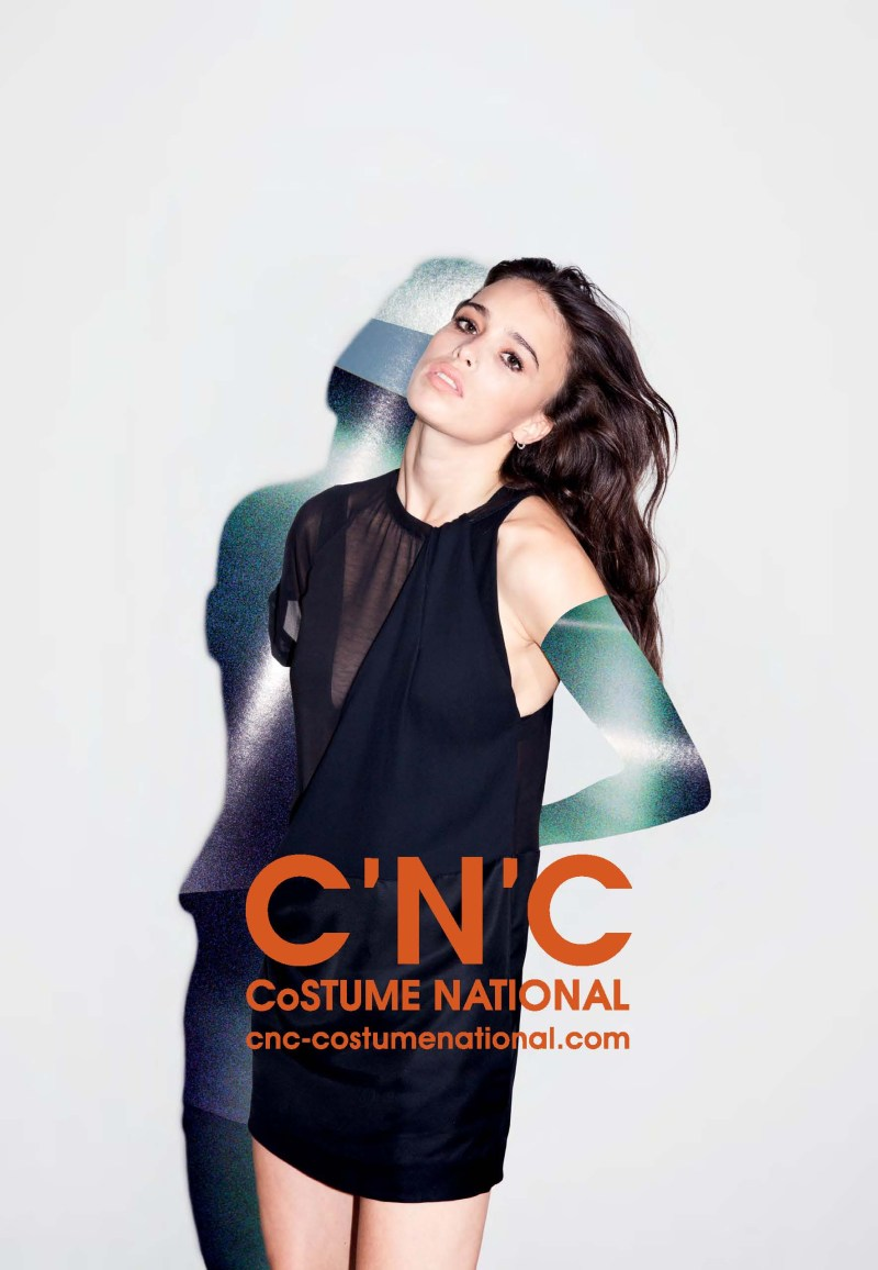 cnc ss13 chelsea tyler1 CNC Costume National Taps Chelsea Tyler for its Spring 2013 Campaign