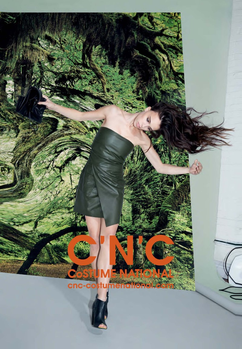 cnc ss13 chelsea tyler2 CNC Costume National Taps Chelsea Tyler for its Spring 2013 Campaign