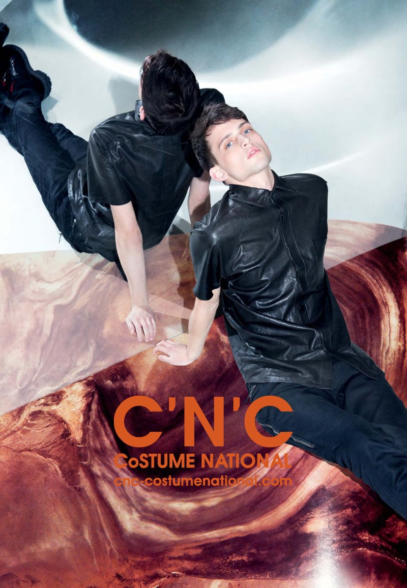 cnc ss13 chelsea tyler3 CNC Costume National Taps Chelsea Tyler for its Spring 2013 Campaign