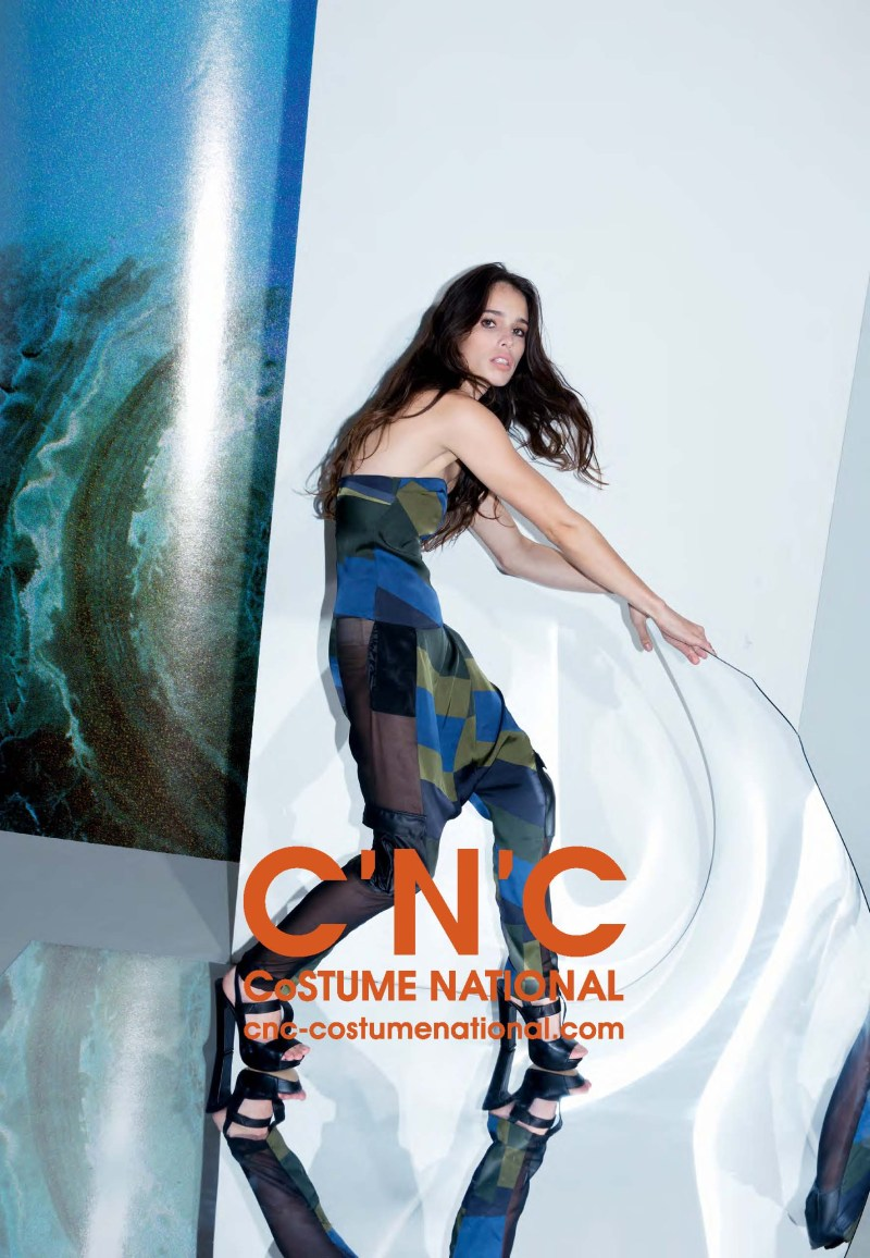 cnc ss13 chelsea tyler4 CNC Costume National Taps Chelsea Tyler for its Spring 2013 Campaign