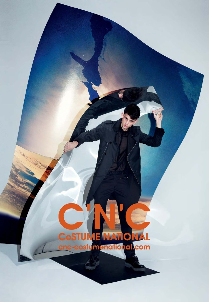 cnc ss13 chelsea tyler5 CNC Costume National Taps Chelsea Tyler for its Spring 2013 Campaign