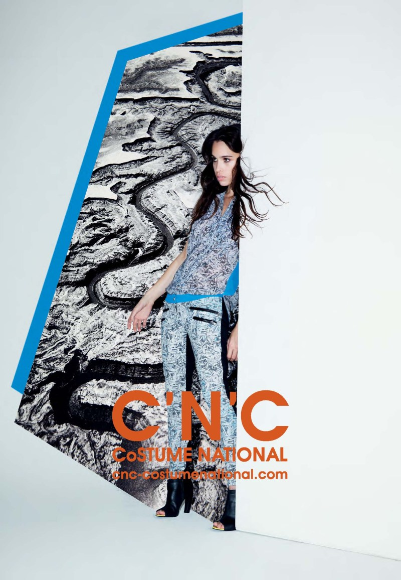 cnc ss13 chelsea tyler6 CNC Costume National Taps Chelsea Tyler for its Spring 2013 Campaign