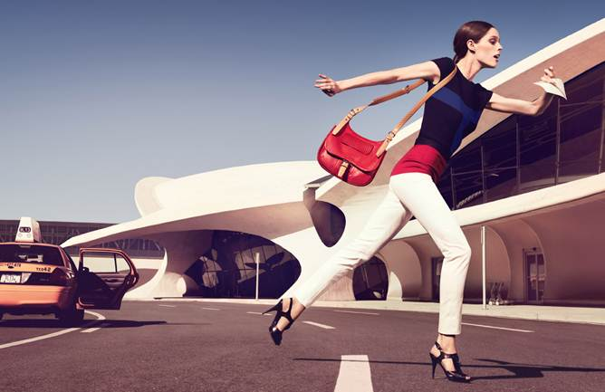 coco longchamp Coco Rocha Stars in You Should be Dancing for Longchamps Spring 2013 Campaign
