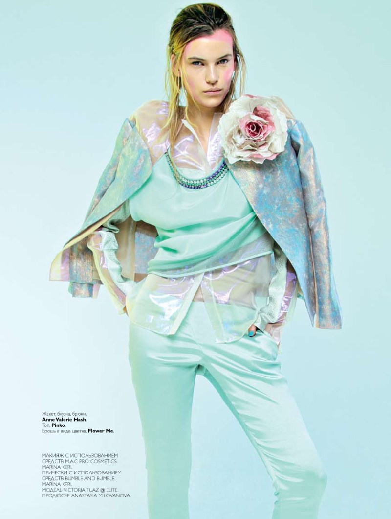 Victoria Tuaz Has a Spring Awakening for Collezioni March 2013 by Nikolay Biryukov