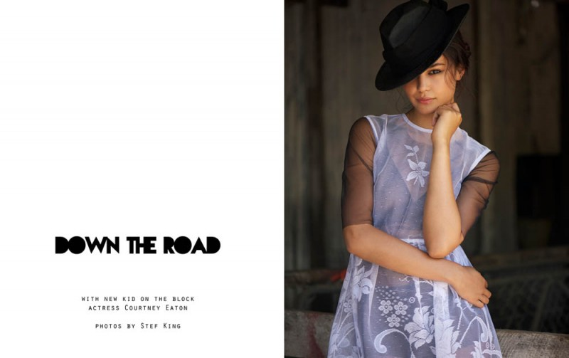 "Courtney Eaton by Stef King in ""Down the Road"" for Fashion Gone Rogue"