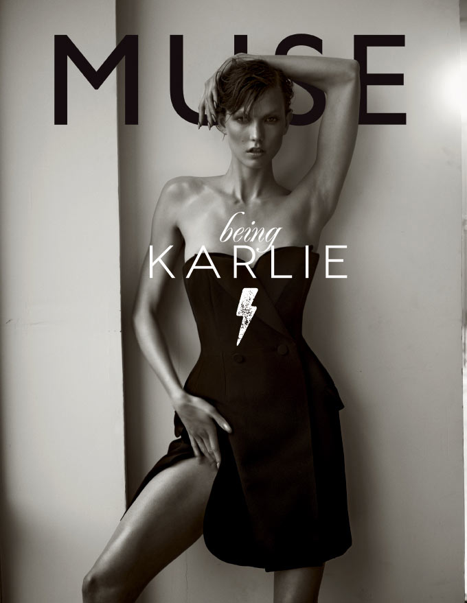 cover1 KARLIE See Karlie Kloss in Action for Muses Spring 2013 Cover Shoot