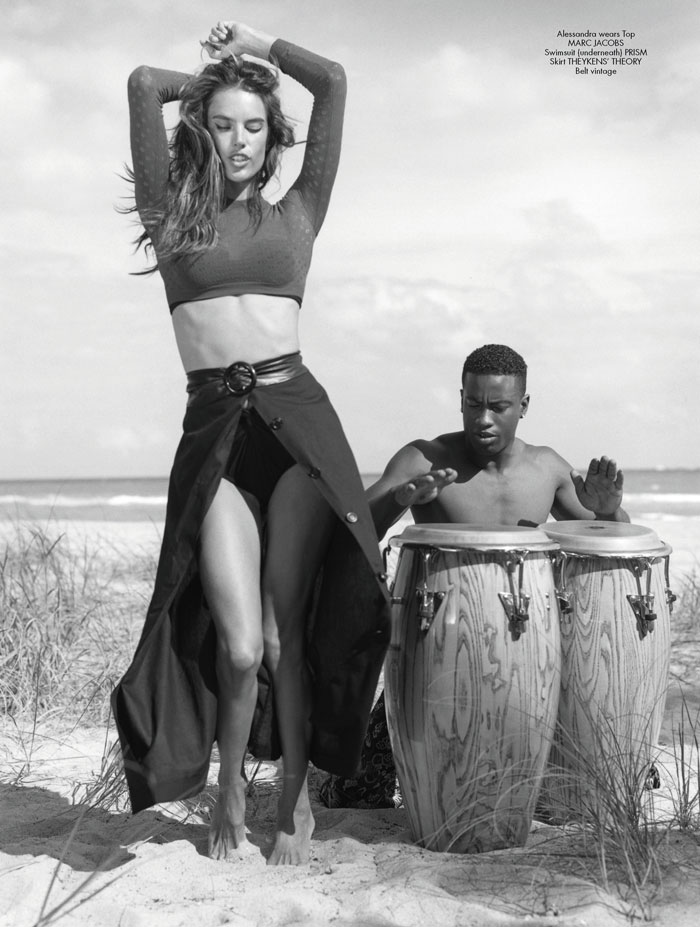 Alessandra Ambrosio and Irina Shayk Head to Miami with Bruce Weber for CR Fashion Book