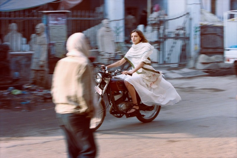 Daria Werbowy Heads to India for Maiyet Spring 2013 Campaign by Cass Bird