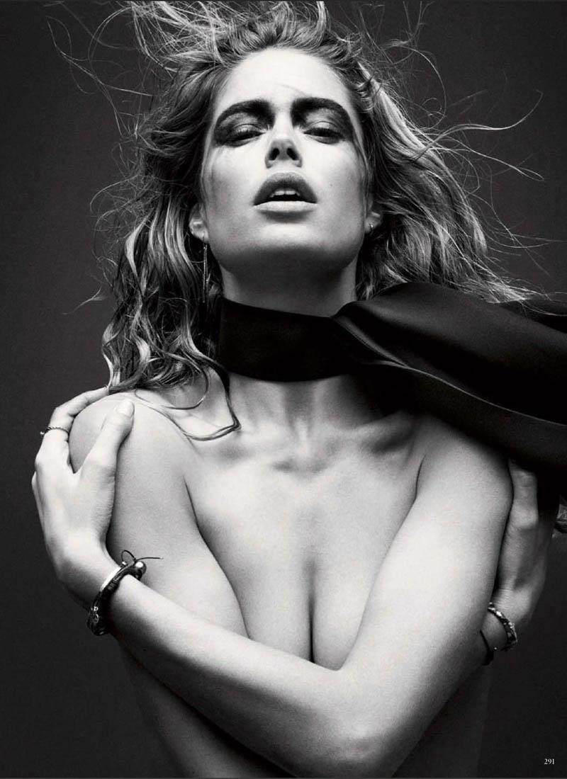 Doutzen Kroes Stuns in Vogue Germany's March Issue by Daniel Jackson