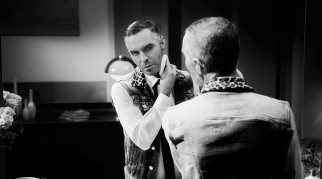 "Dean and Dan Caten in ""Behind the Mirror"" for DSquared2 Spring/Summer 2013 Campaign Film"
